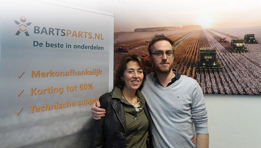 Hier werk ik Elena Guardo - bij BartsParts in Leiden