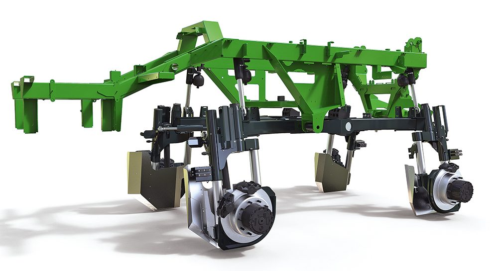 Akkertest Amazone Pantera 4502-H Op hoge hakken door de mais - Agri Trader (2)