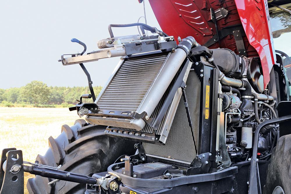 McCormick X7 met powershifttransmissie - een bak met Six-appeal - Agri Trader Test Jaarboek (2)