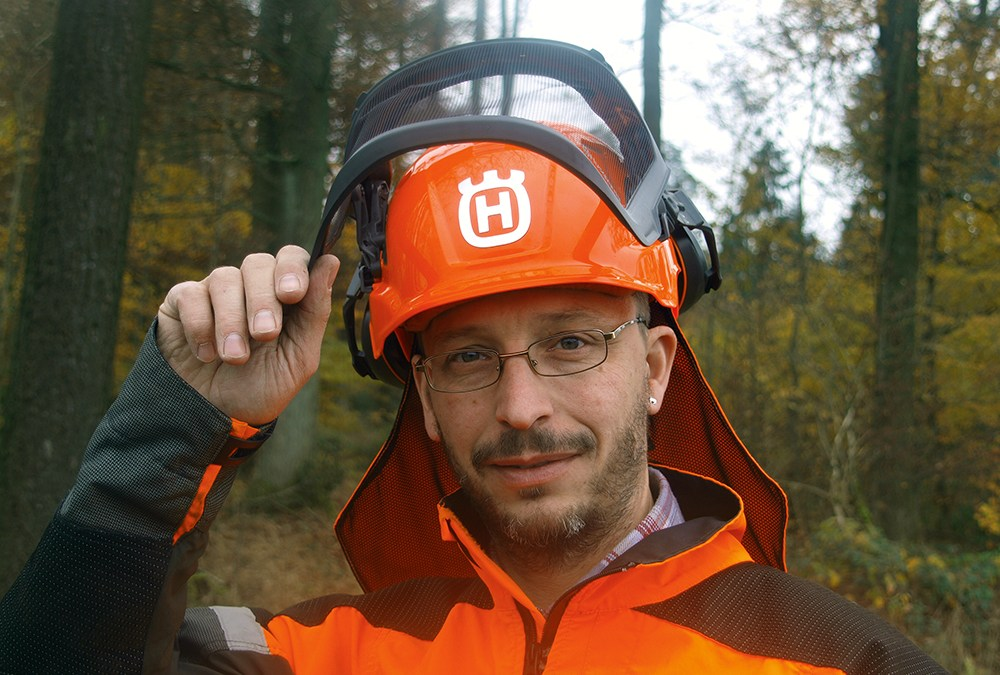 Kop op!  De Husqvarna bosbouwhelm Technical getest