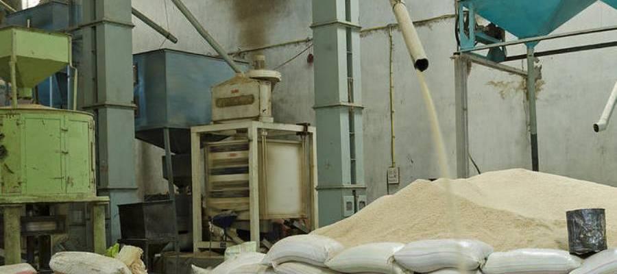 Rice mill in Bangladesh