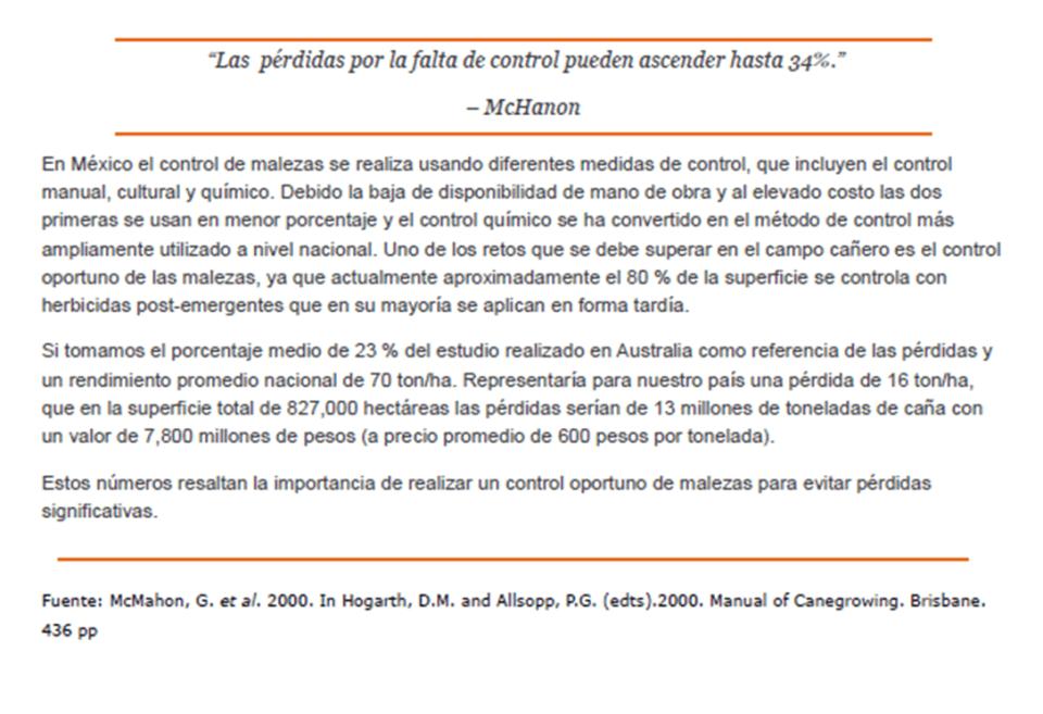 ARTICULO 3 AGROBIEN MALEZAS EN CAÑA DE AZÚCAR CONT