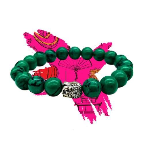 Pulsera Tibetana (verde)