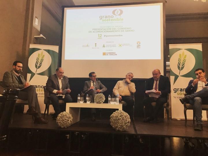 """El convenio de Grano Sostenible """"dará soluciones"""" a los agricultores de cereal"""
