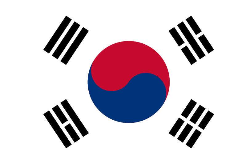 bandeia coreia do sul