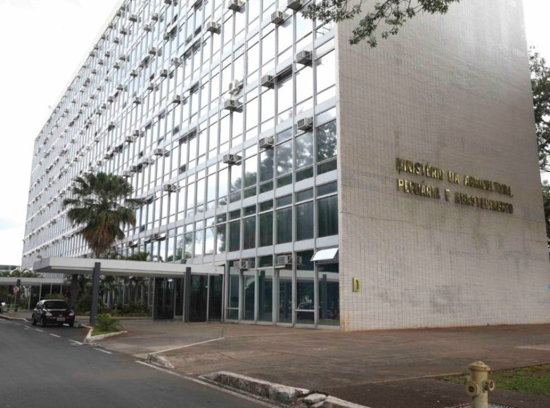 Brasília - Foto da Faixada do Ministerio da Agricultura