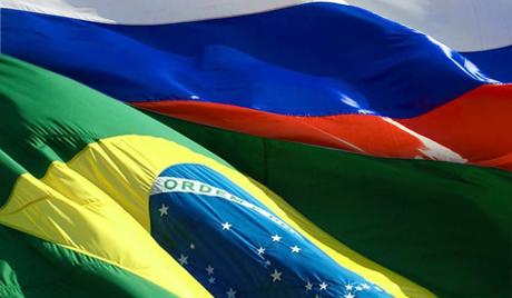 a - bandeiras brasil russia