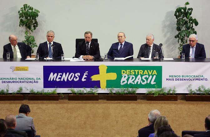 seminario desburocratizacao
