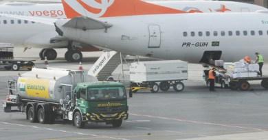 DF terá imposto menor em querosene de aviação