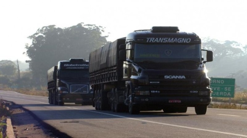 caminhão estrada ebc
