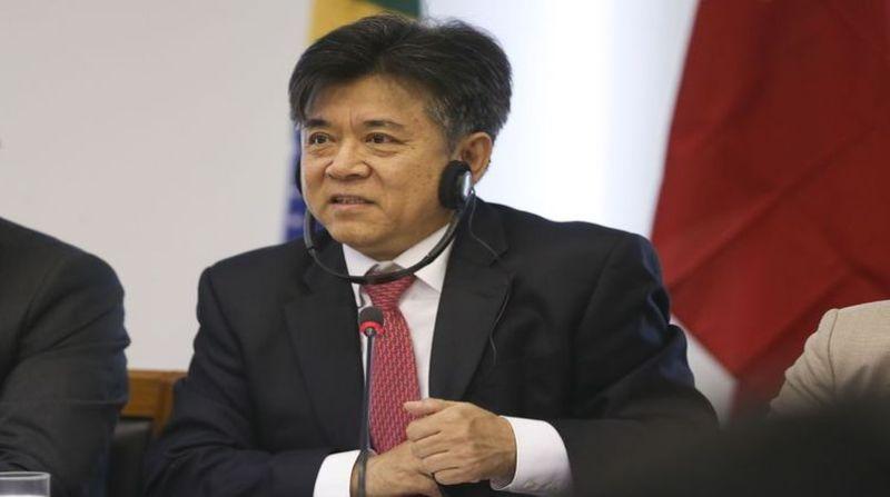 embaixador chines no brasil