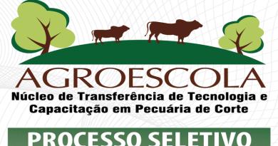 Programa Agroescola seleciona técnicos agrícolas e agropecuários