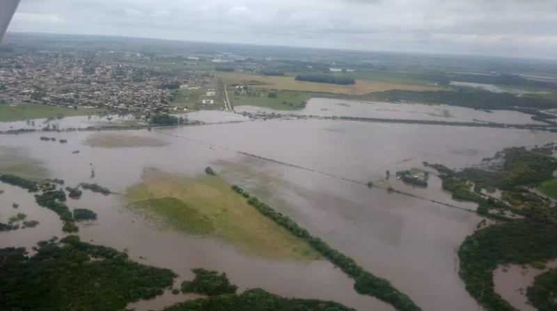Enchente Lavouras Arroz - Crédito Federarroz Divulgação