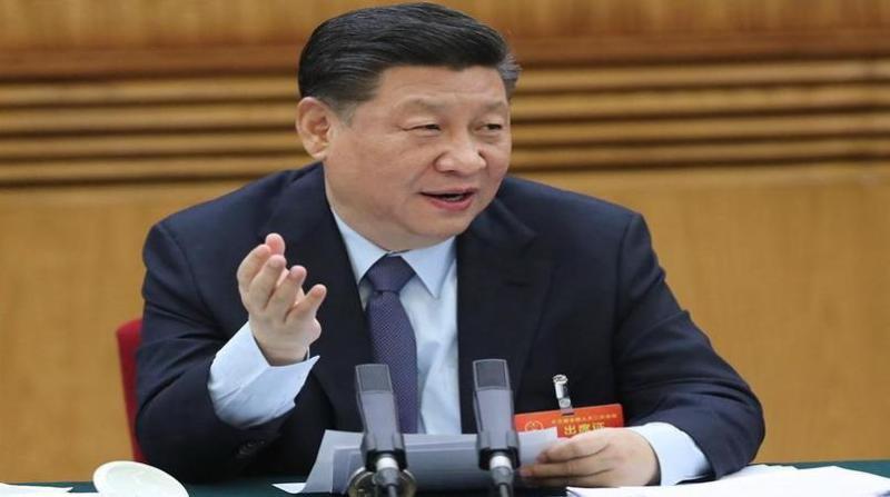 presidente da china Xi Jinping xinhua foto Ju Peng