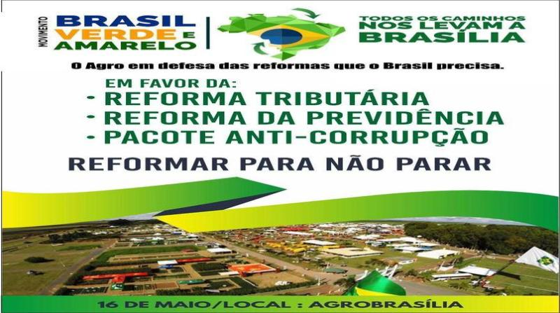 arte movimento brasil verde e amarelo 13 4 19