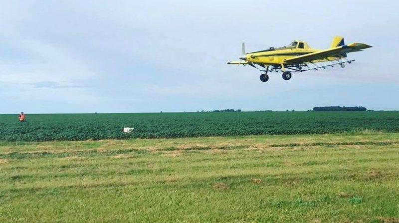 aviacao agricola sobrevoo campo 28 5 19