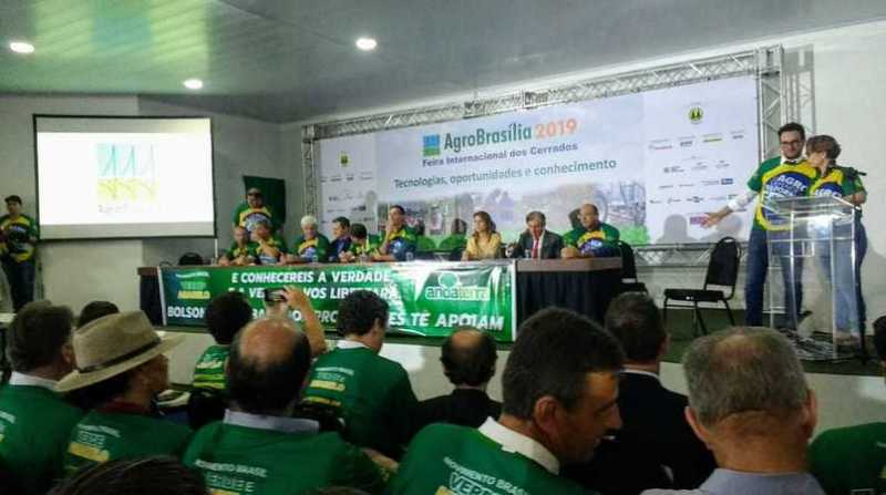 movimento brasil verde e amarelo agrobrasilia 16 5 19