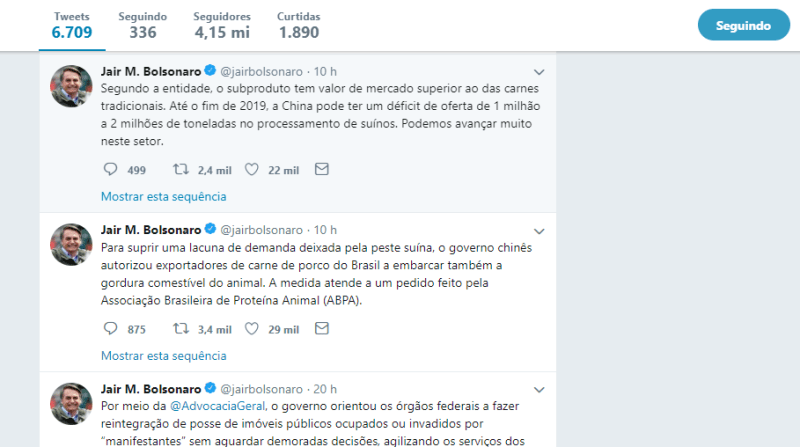 twitter bolsonaro