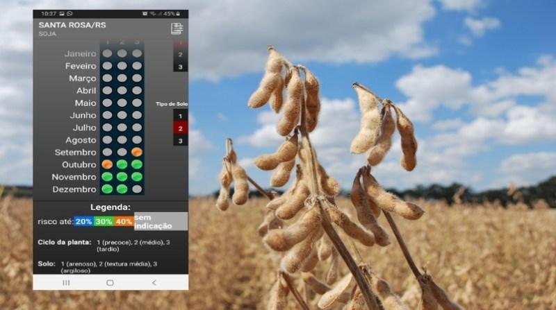 aplicativo semeadura verao embrapa joseani antunes