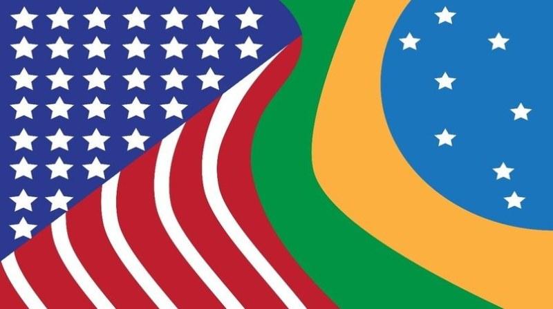 bandeira brasil eua