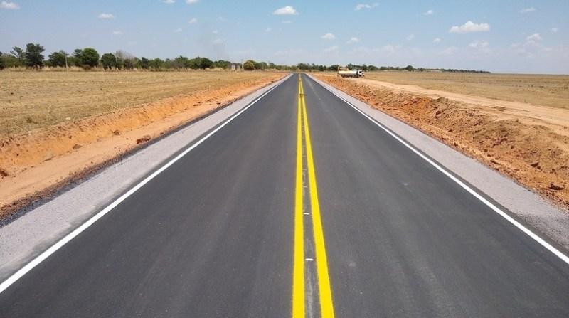 estrada asfalto oeste ba abapa divulgacao