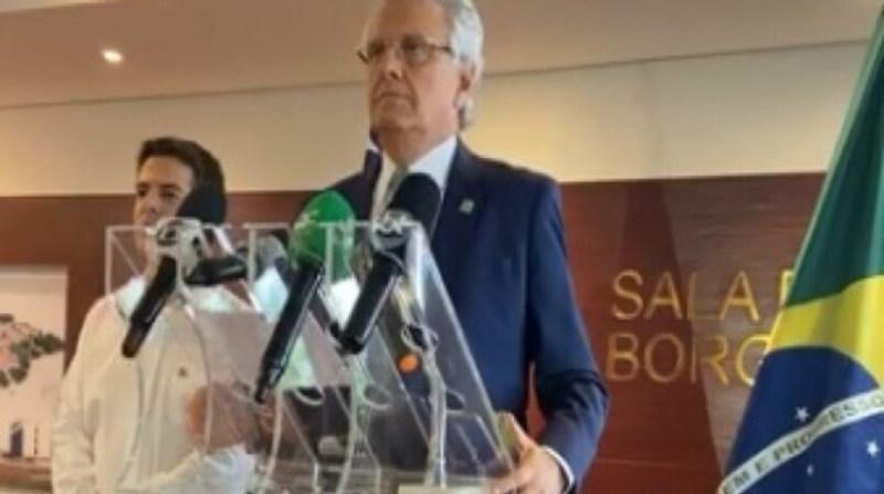 caiado governador reproduçao facebook