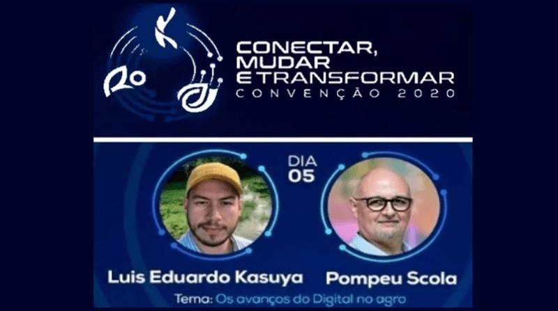 Pompeo e Luis Eduardo
