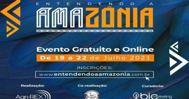 Evento 'Entendendo a Amazônia' começa nesta 2ª-feira; inscrições gratuitas