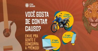 Concurso de causos da CNA/Senar está com inscrições abertas até 30 de outubro