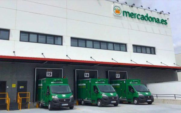 camiones mercadona
