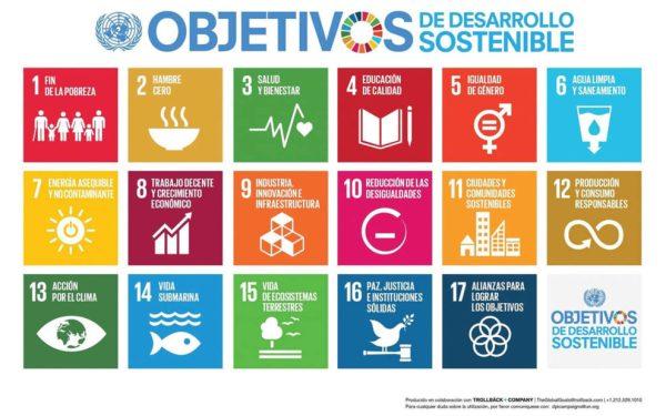 objetivos sostenibilidad ONU