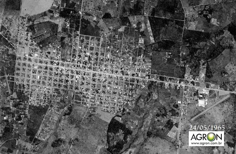 Imagens de satélite, inéditas, da cidade de Dourados-MS