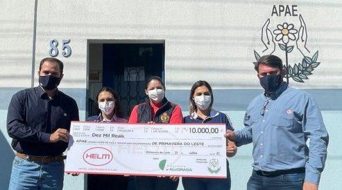 HELM do Brasil realiza doação para APAE de Primavera do Leste (MT)