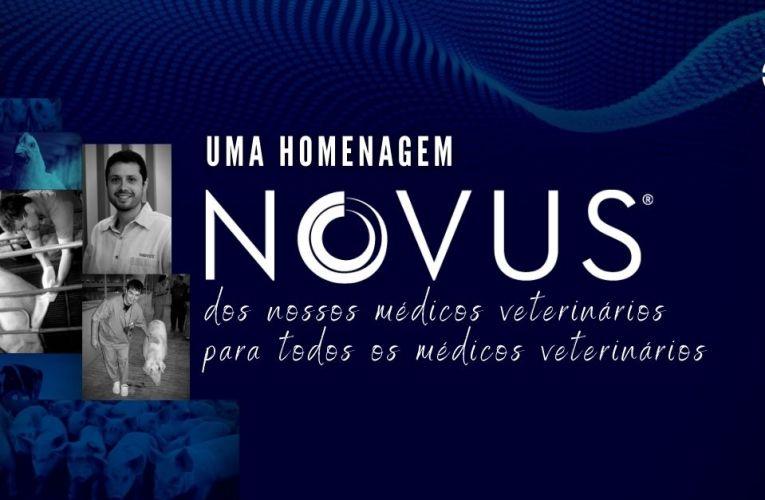 NOVUS® parabeniza todos os médicos veterinários