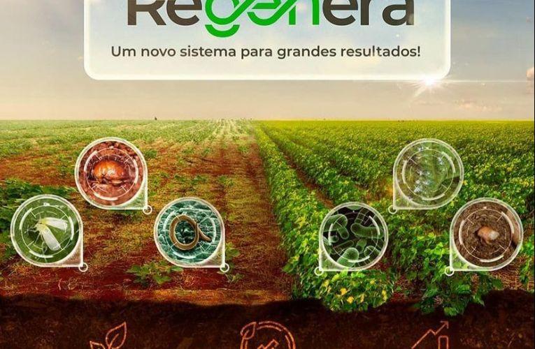 Sistema REGENERA entrega solução de manejo integrado, que proporciona o reequilíbrio do sistema agrícola