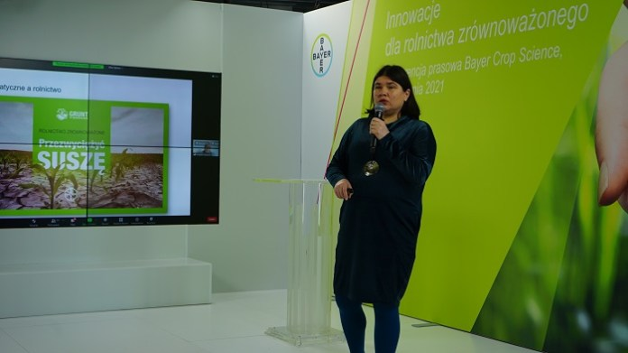 Iwona Krych-Stec, Head of Marketing Crop Science, Bayer Polska.