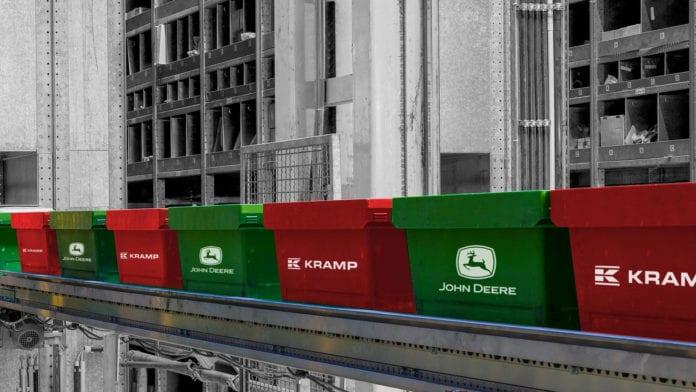 John Deere i Kramp, John Deere, Kramp, ciągiki, części zamienne, serwis maszyn rolniczych, Vapormatic