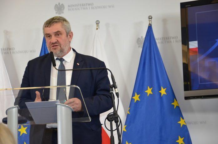 susza, walka z suszą, Jan Krzysztof Ardanowski, ministerstwo rolnictwa i rozwoju wsi, pomoc suszowa