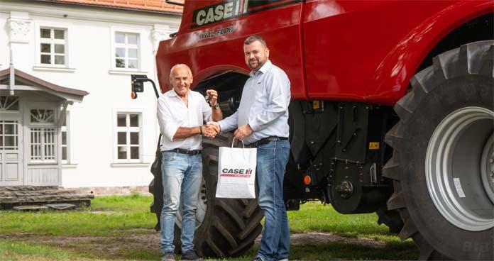 Czesław Lang, ciągniki, maszyny rolnicze, Case IH, Axial-Flow, Farmlift, Puma