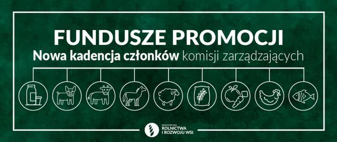 Nowa kadencja członków komisji zarządzających funduszy promocji produktów rolno-spożywczych 2021-2025