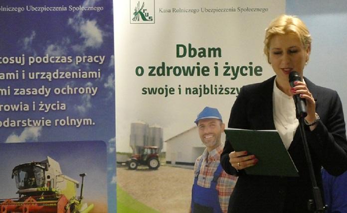 KRUS, nie daj się wkręcić, Bezpieczne Gospodarstwo Rolne, Aleksandra Hadzik