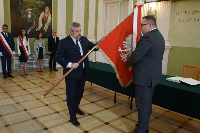 KRUS ma swój sztandar, KRUS, sztandar, Jan Krzysztof Ardanowski, Adam Sekściński