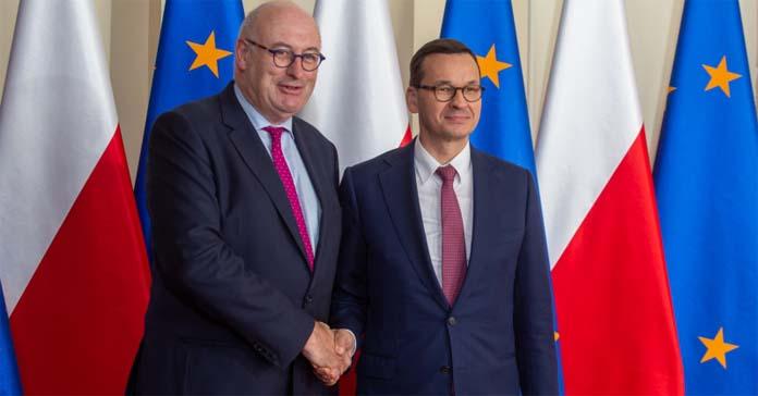 Mateusz Morawiecki, premier mateusz morawiecki, Wspólna Polityka Rolna, Brexit, Phil Hogan