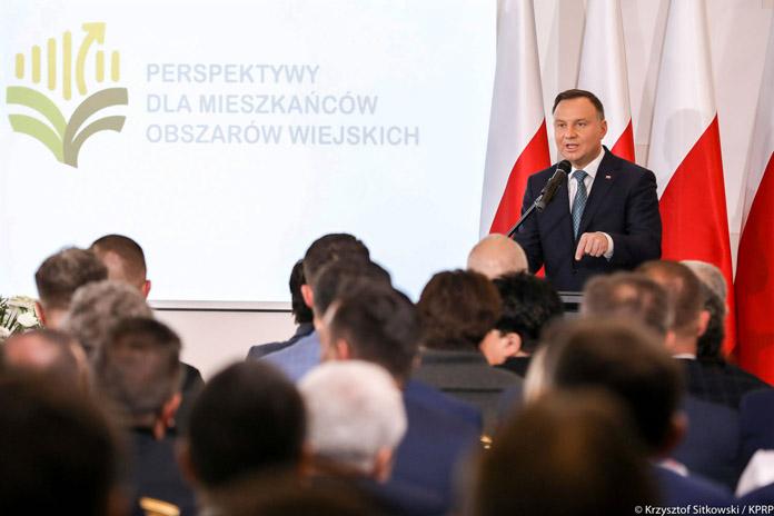 rolnik, rolnictwo, portal rolny, prezydent Andrzej Duda, Perspektywy dla mieszkańców obszarów wiejskich