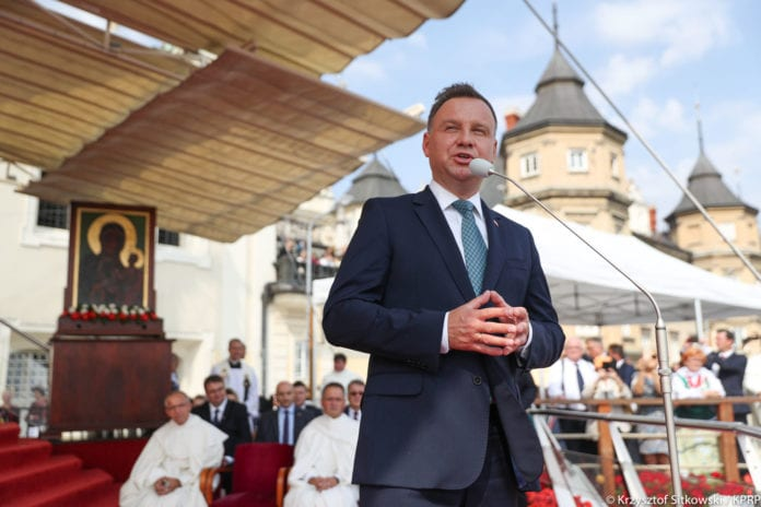 Dożynki Jasnogórskie, prezydent, Andrzej Duda, wieś, rolnictwo
