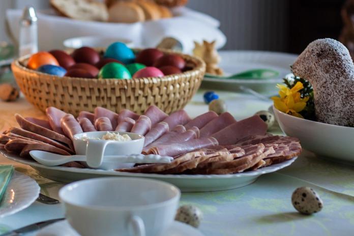 jaja, Wielkanoc, koszyk wielkanocny, żywność, ceny żywności