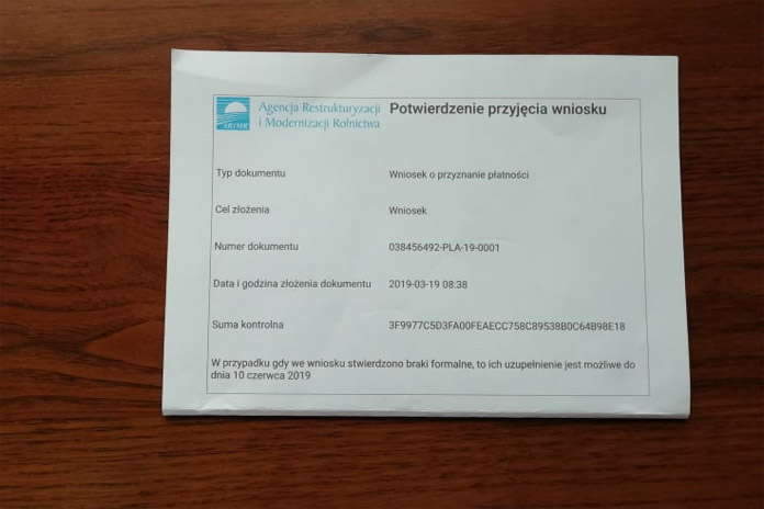 Termin składania wniosków o dopłaty, dopłaty bezpośrednie, ARiMR