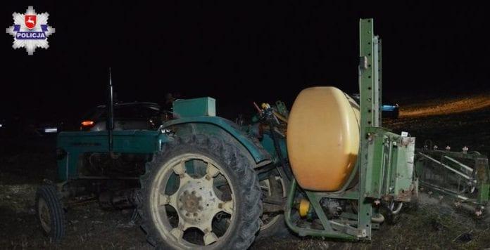 Rolnik zginął pod opryskiwaczem, wypadki z udziałem ciągnika, rolnik, rolnictwo, portal rolny, wypadki na wsi, wypadek w rolnictwie, KPP Zamość
