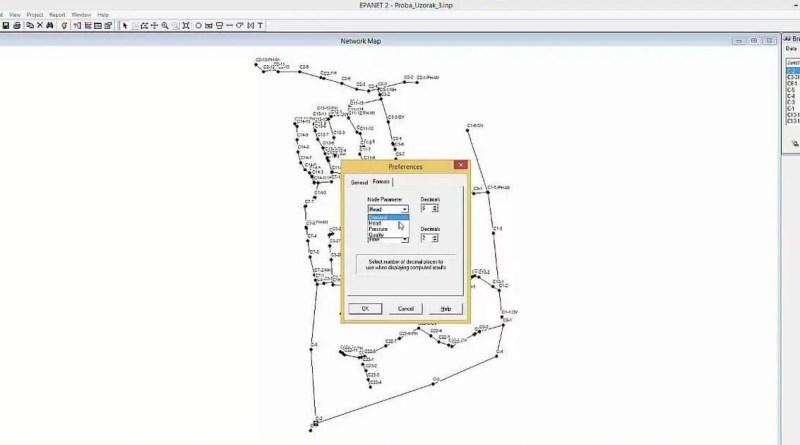 استخدام برنامج epanet لتصميم خطوط الري بالتنقيط