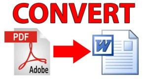 طريقة رائعة لتحويل PDF الى Word بدون برامج